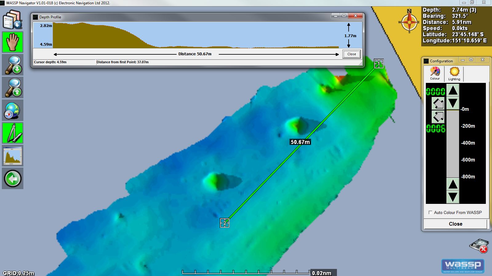 Pacific Conquest - Hydrographic Survey